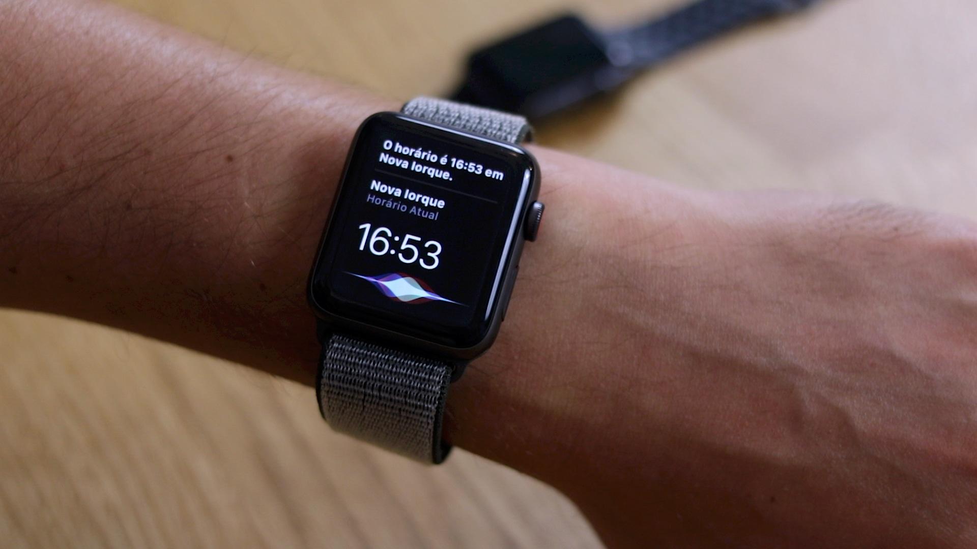 Hands-on do Apple Watch Series 3