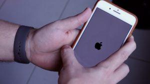 Reinicialização forçada do iPhone 8