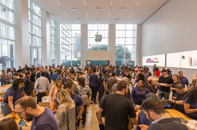 Apple Store temporária da Quinta Avenida em Nova York
