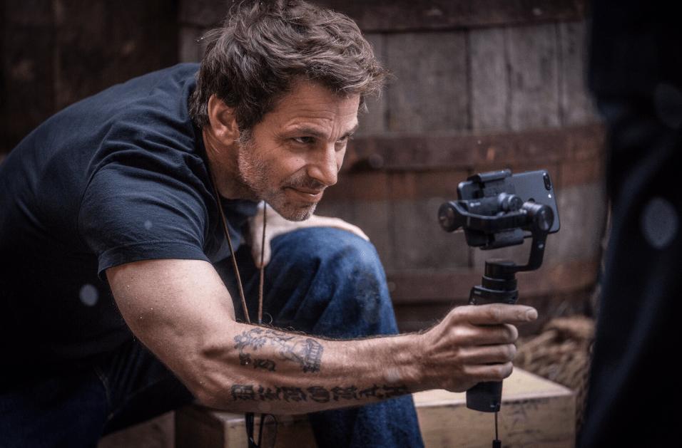 Zack Snyder iPhone Snow Steam Iron