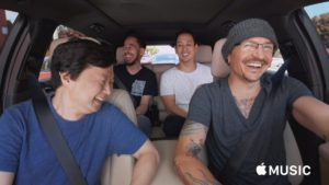 Episódio do Carpool Karaoke com Chester Bennington e o Linkin Park