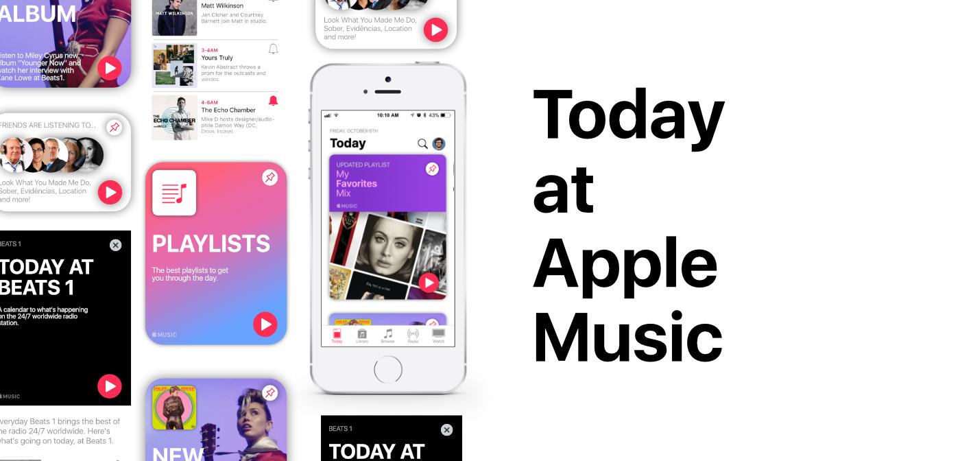 Conceito de um novo Apple Music, por Gustavo Gonçalves