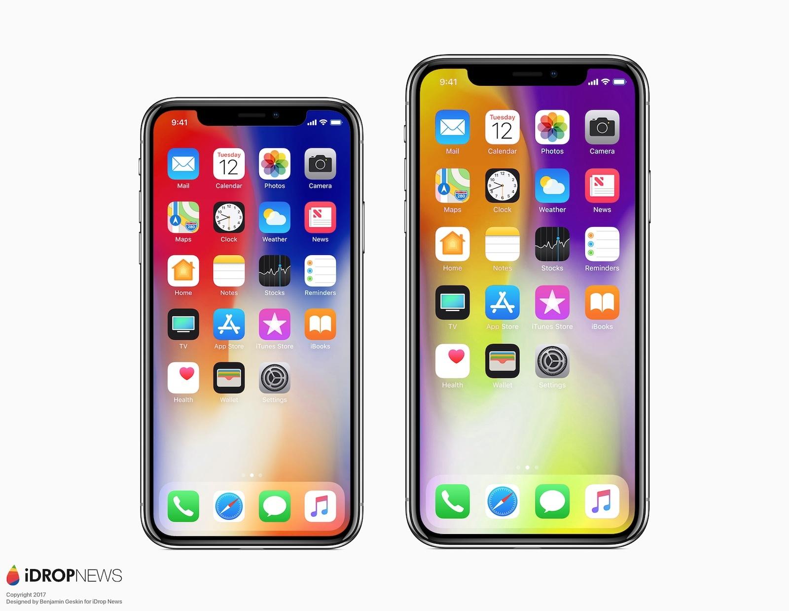 Renders j imaginam como ser um futuro iphone x plus com tela de render de iphone x plus stopboris Gallery