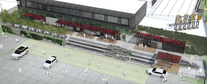 Estúdio em Culver City que pode ser alugado pela Apple
