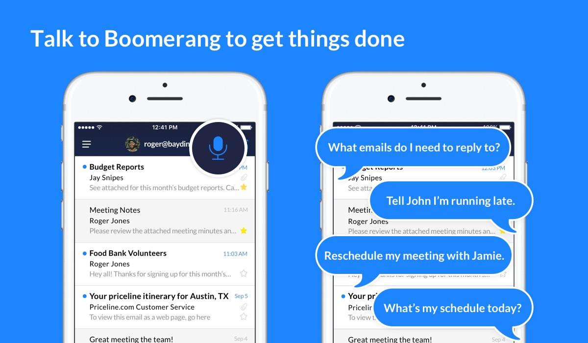 Boomerang mail AI