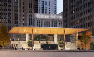 Apple Michigan Avenue em Chicago
