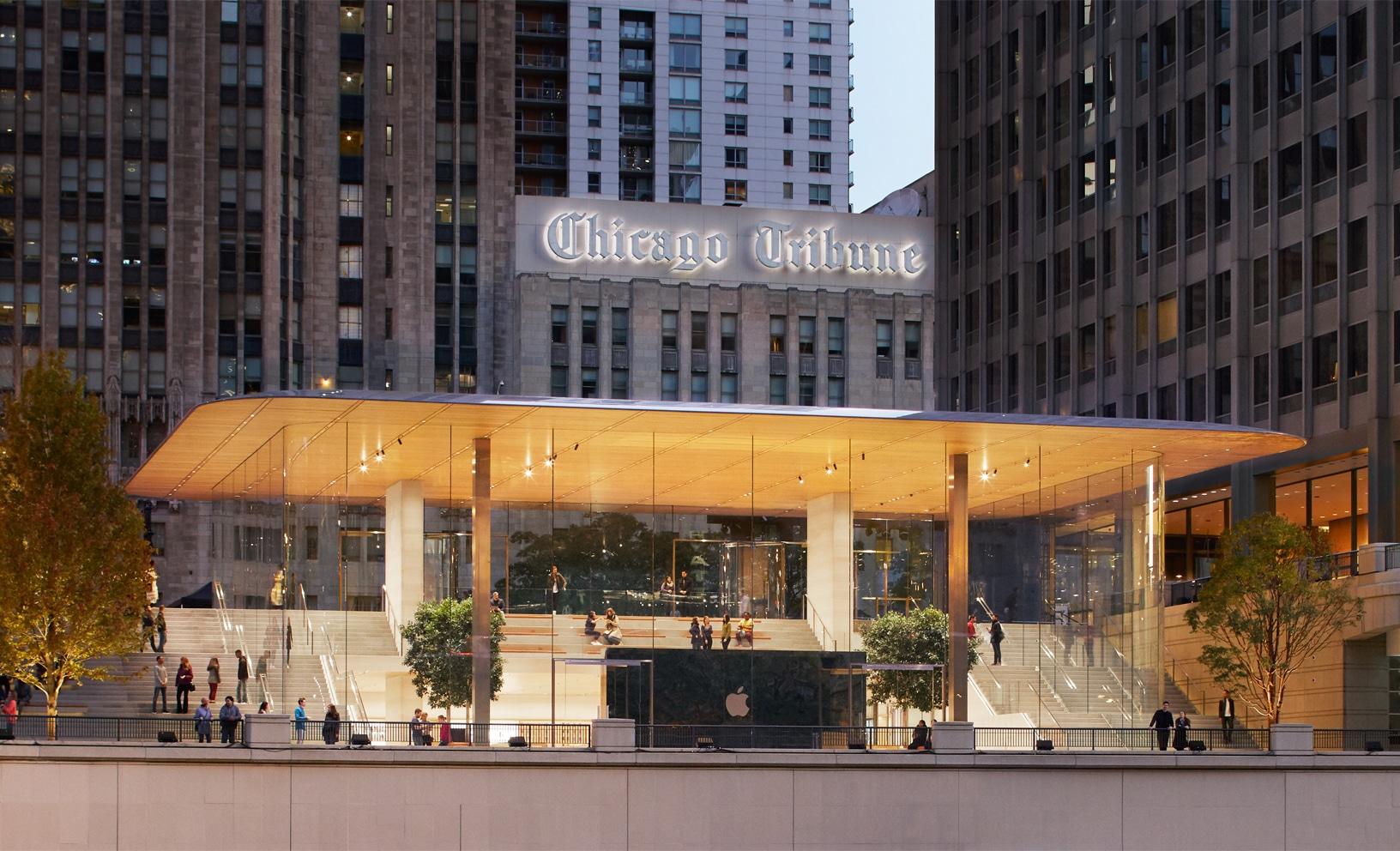 Apple Michigan Avenue em Chicago