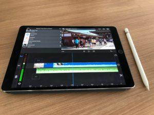 LumaFusion e Apple Pencil