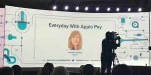 Apple Pay Jennifer Bailey em Money 20/20