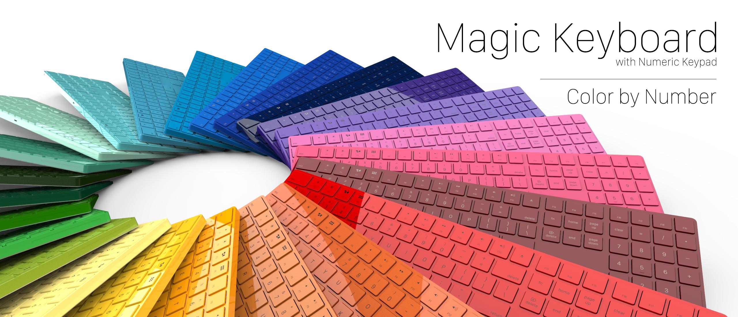 Magic Keyboard da ColorWare