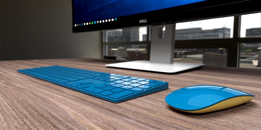 Magic Keyboard azul da ColorWare