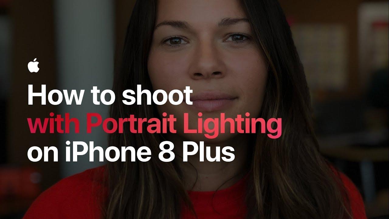 Comercial do Modo Iluminação de Retrato no iPhone 8 Plus