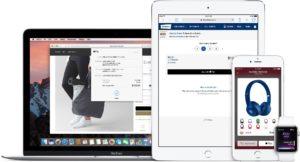 Apple Pay em vários dispositivos