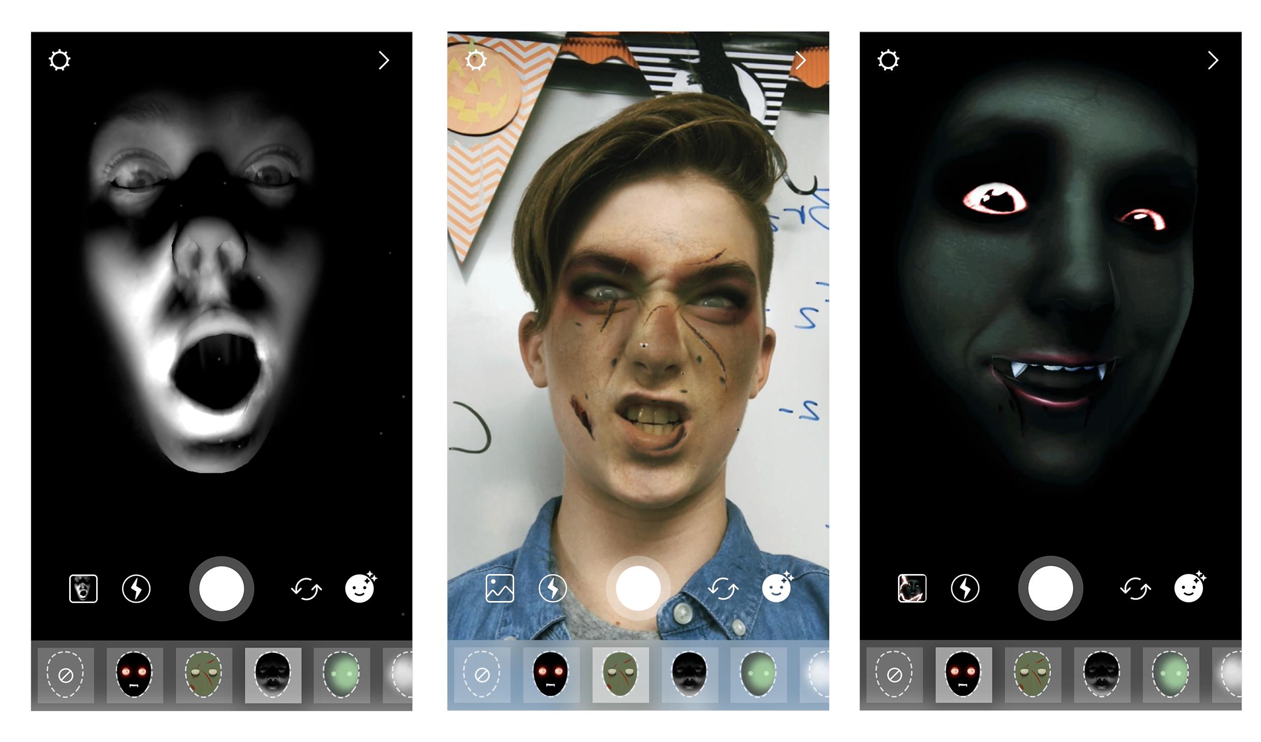 Novos efeitos e filtros do Instagram: Superzoom e Halloween
