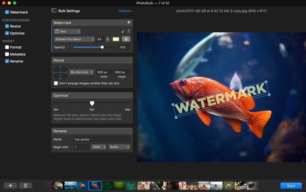 Editor de imagens PhotoBulk para Mac traz excelentes melhorias em sua versão 2