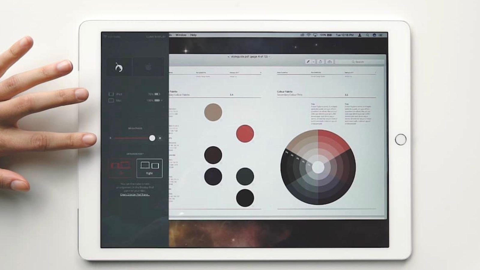 Recurso rejeitado do AstroPad Studio que transforma a câmera do iPad num botão