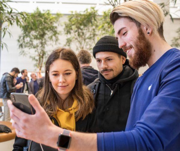 Lançamento do iPhone X - Apple Regent Street, em Londres