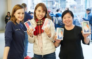 Lançamento do iPhone X - Apple Sydney