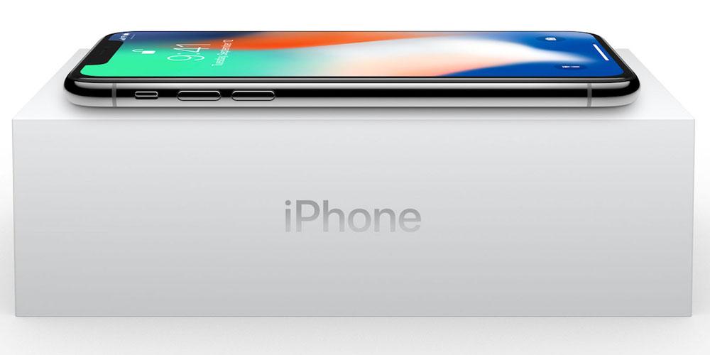 iPhone X caixa