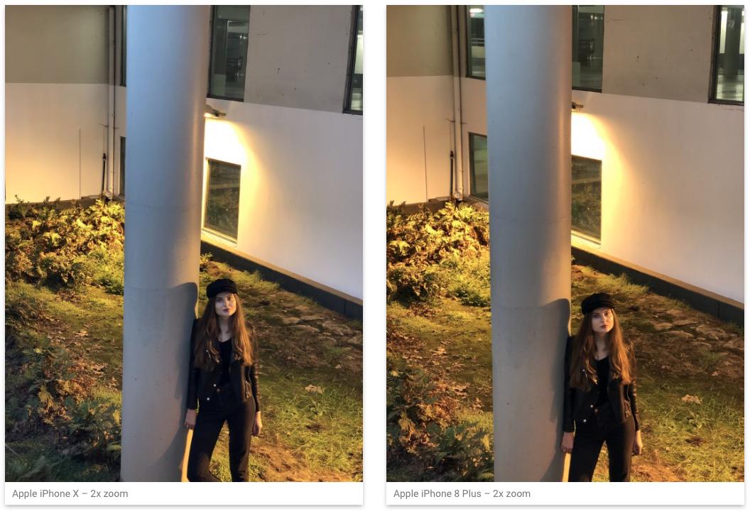 Teste e comparação de câmera do iPhone X da DxOLabs