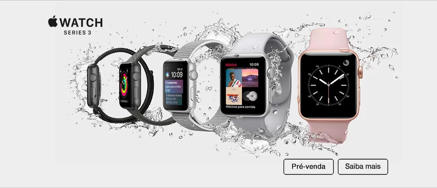 Pré-venda do Apple Watch Series 3