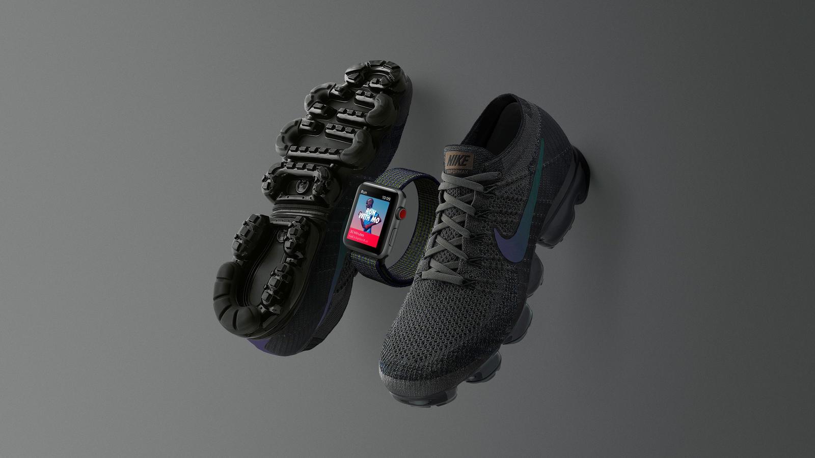 Edição especial Midnight Fog do Apple Watch Nike+ Series 3