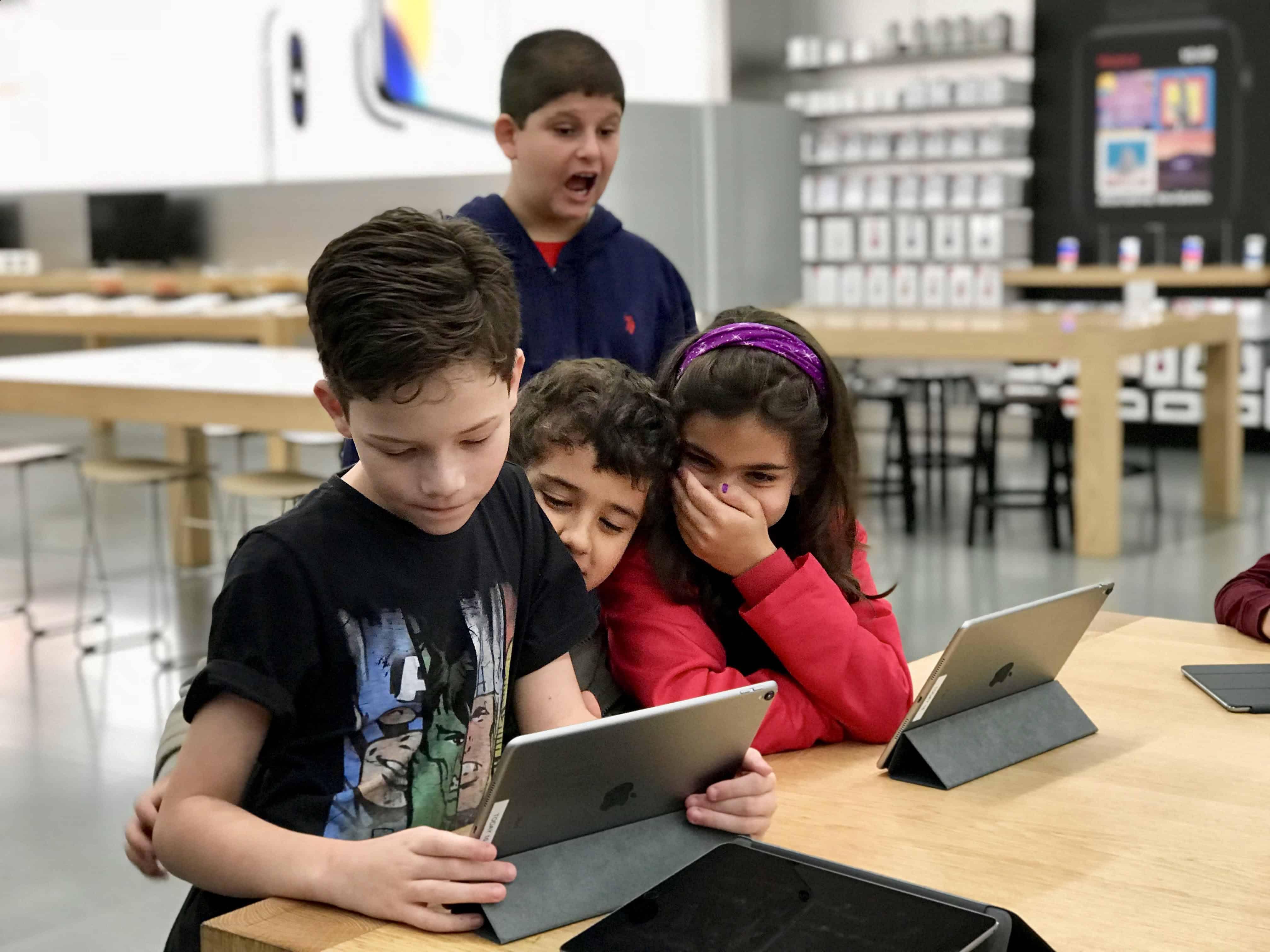 Apple sessao autismo Brasil