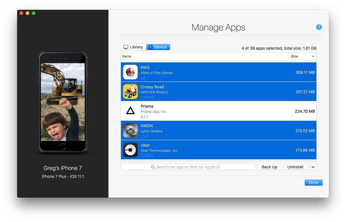 iMazing 2.5 para macOS