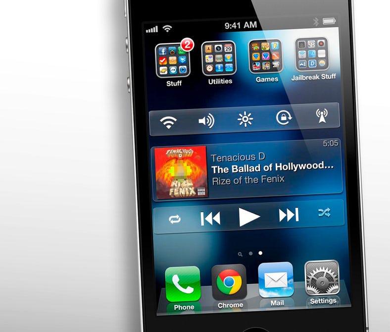 iPhone com jailbreak rodando o iOS 6