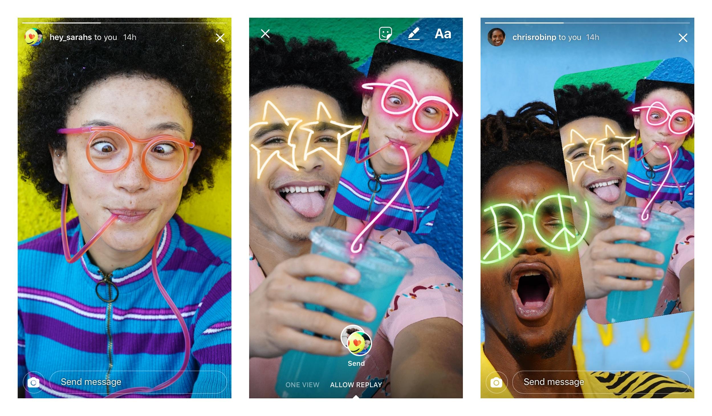 Instagram Remix Stories