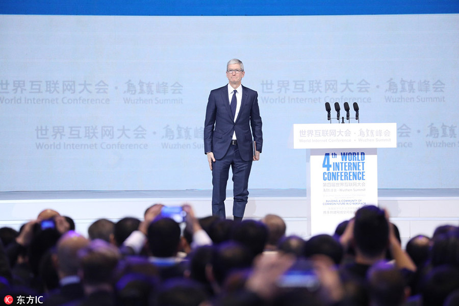 Tim Cook China conferência