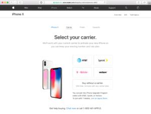 iPhone X SIM-free