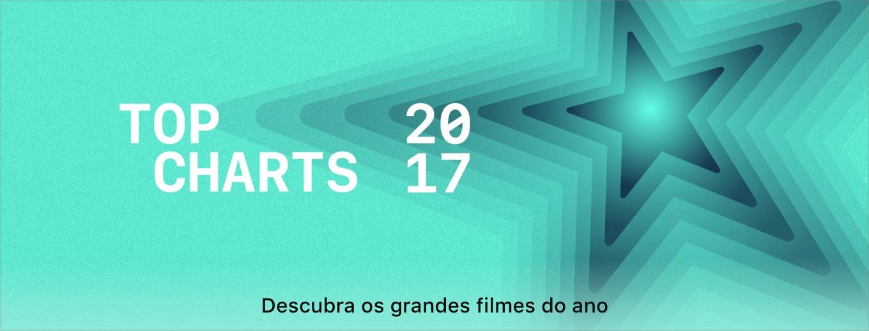 Banner de Top Charts de filmes da iTunes Store