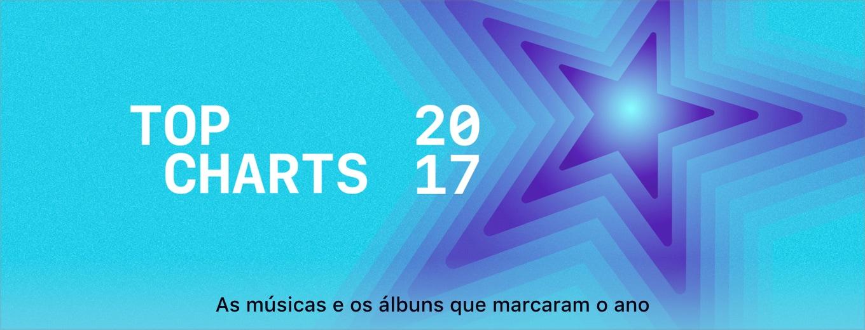 Banner de Top Charts de músicas da iTunes Store