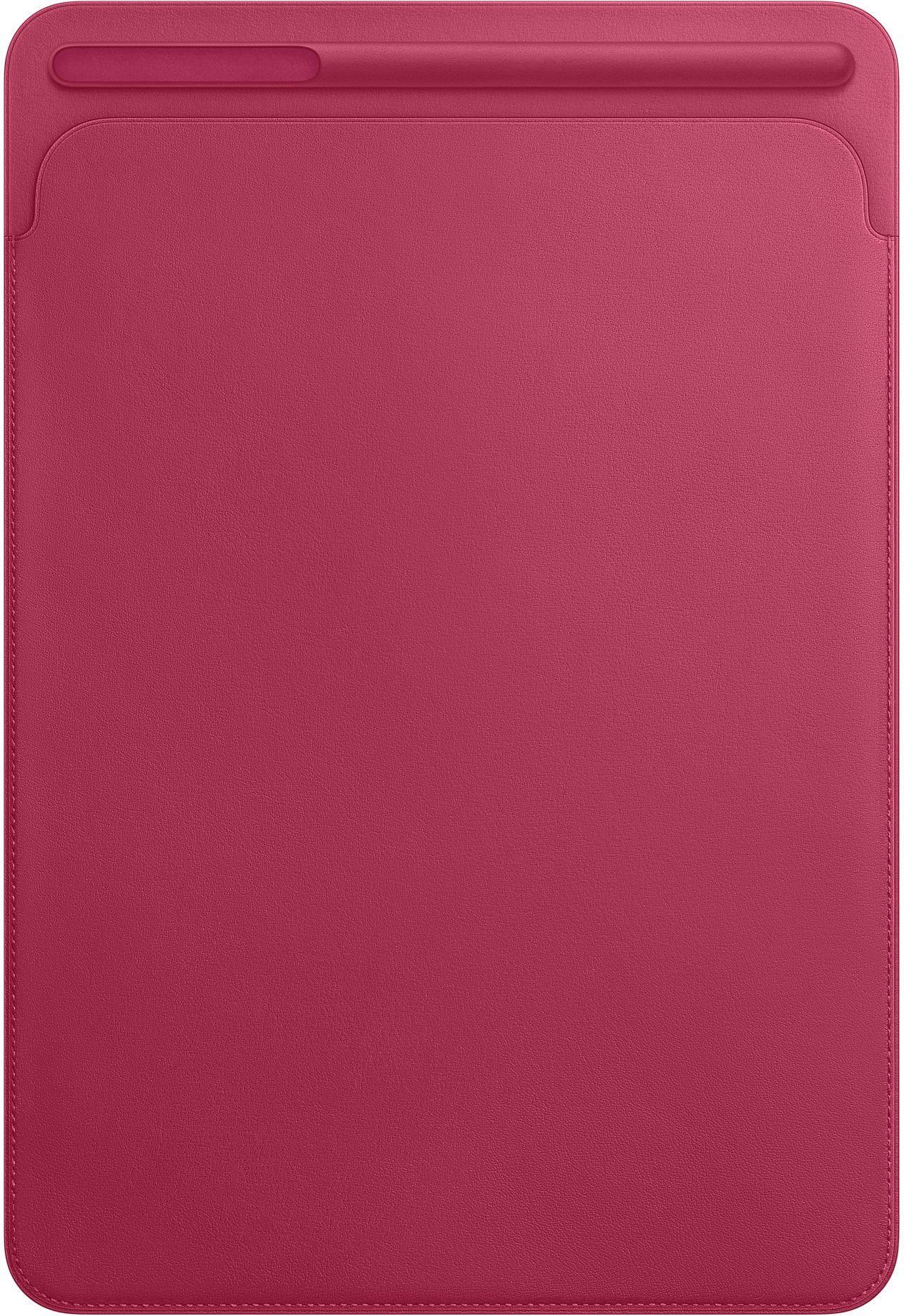 Capa de couro para iPad Pro de 10,5 polegadas - Rosa-fúcsia