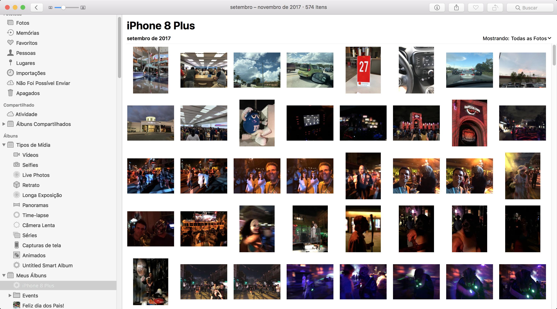 Fotos - Álbum inteligente