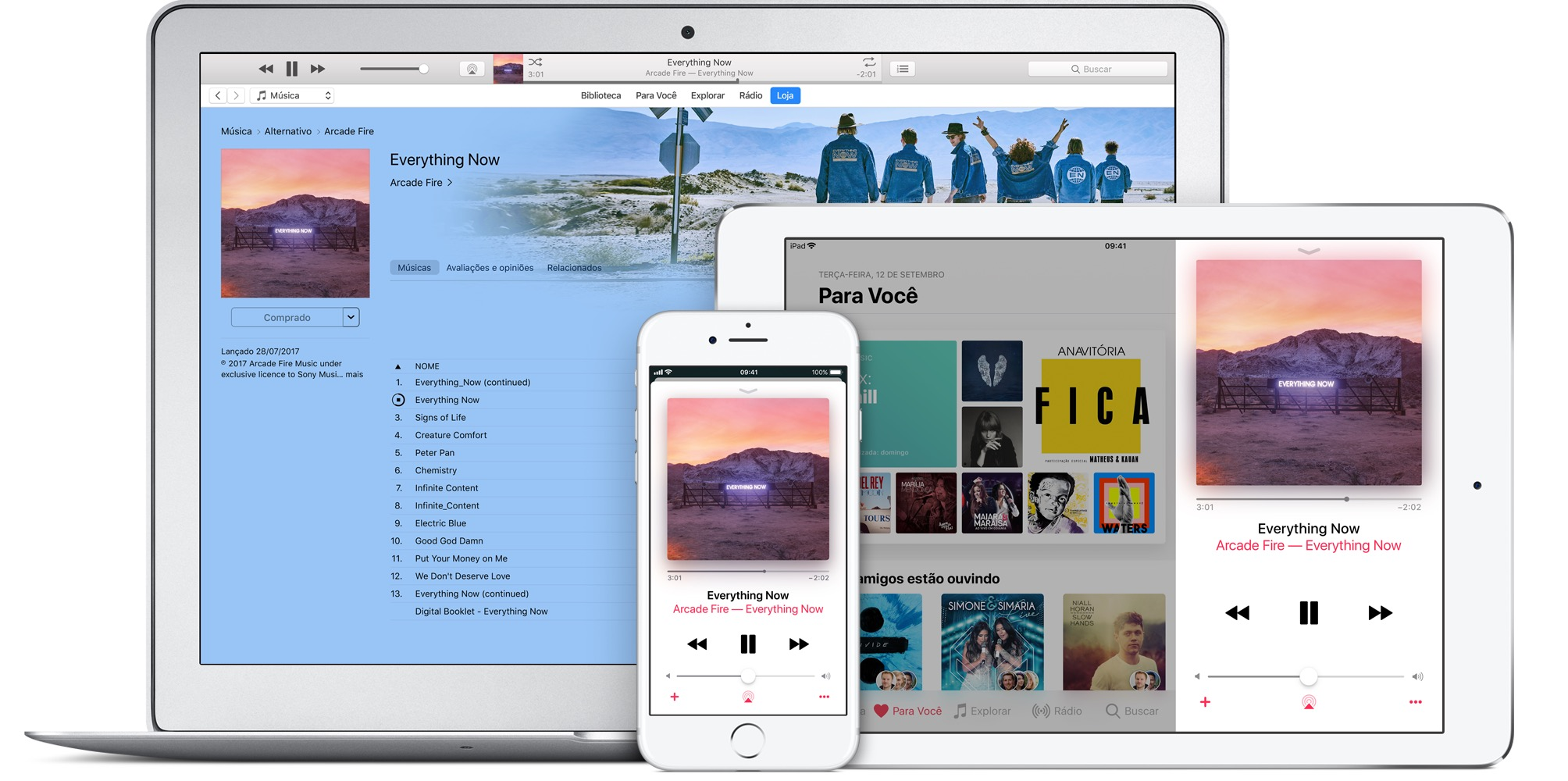 iTunes Store e Apple Music