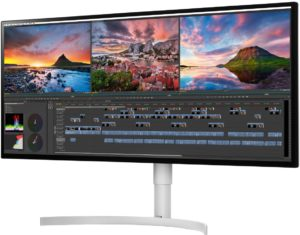 Novo monitor ultrawide da LG