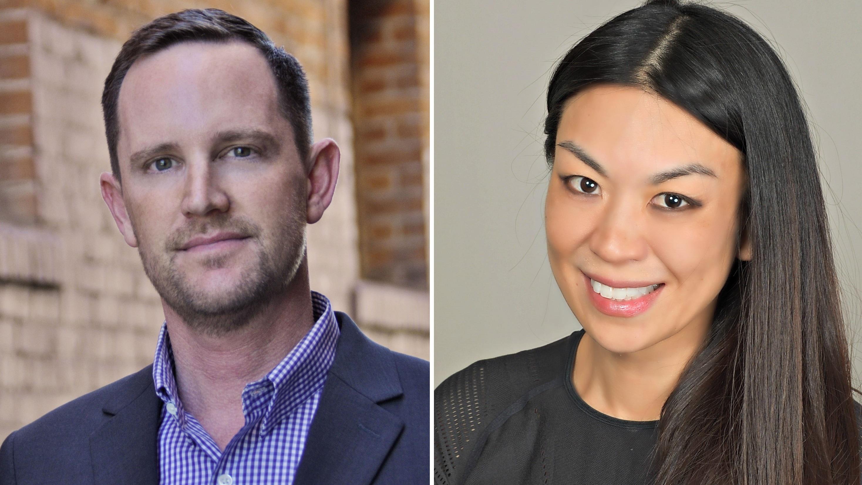 Philip Matthys (ex-Hulu) e Jennifer Wang Grazier (ex-Legendary Entertainment)