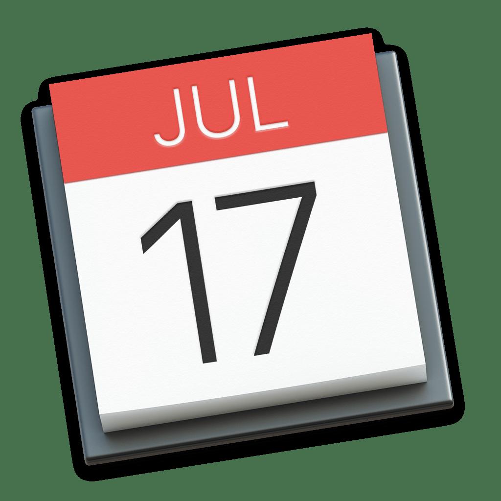 Ícone - Calendário do macOS