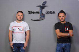 Marca italiana de roupas Steve Jobs