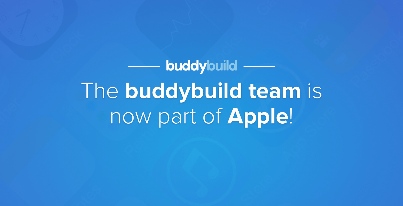 Apple compra a buddybuild