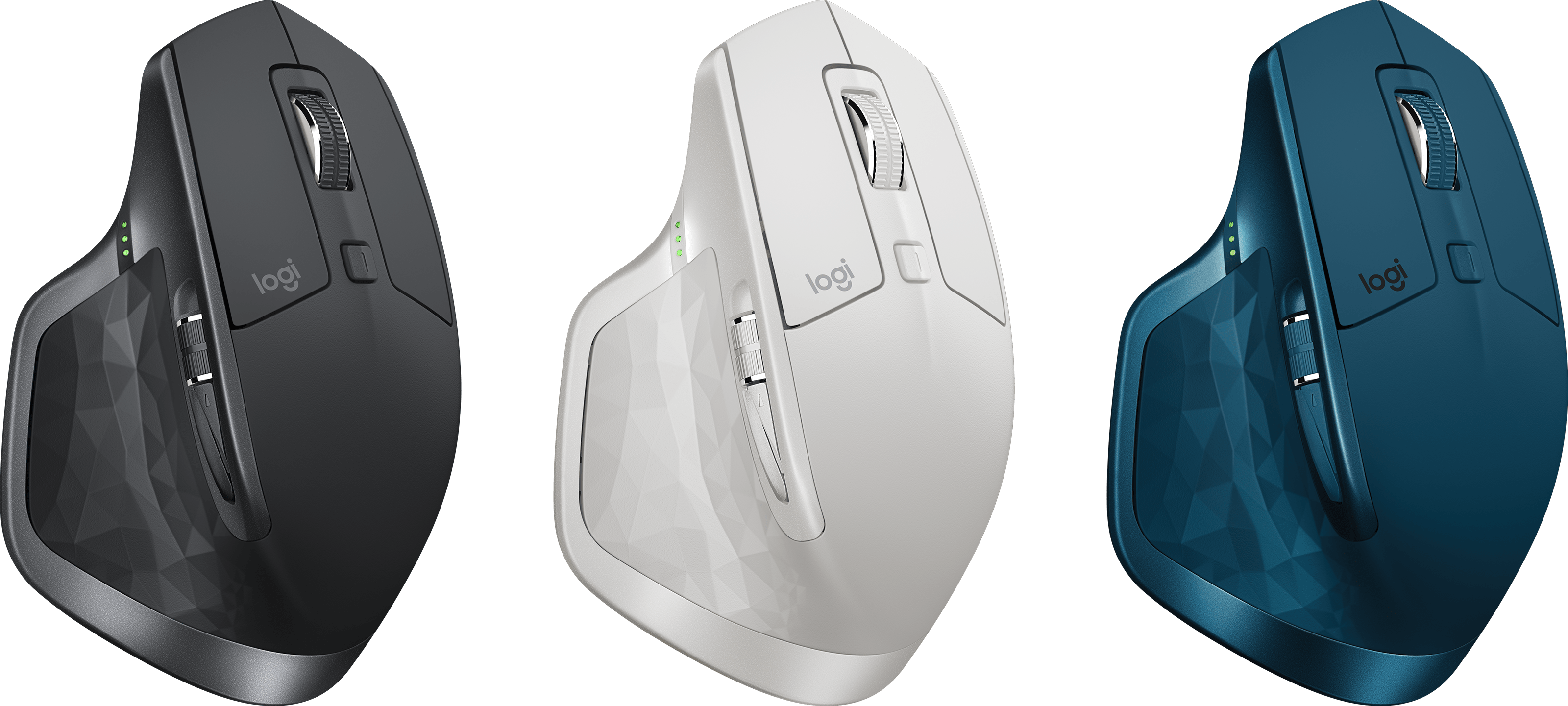 Todas as cores do Logitech MX Master 2S