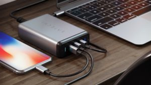 Type-C 75W Multiport Travel Charger, da Satechi