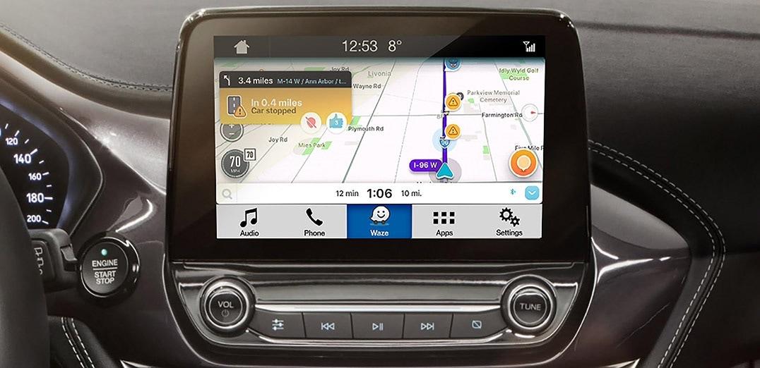 Waze rodando no SYNC 3 (Ford)