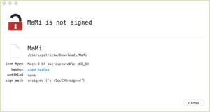 Malware MaMi nao assinado
