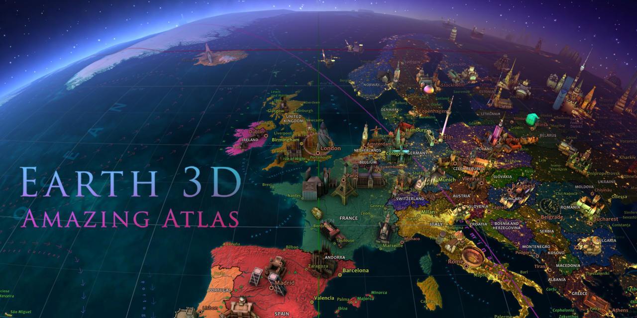 App Earth 3D - Amazing Atlas