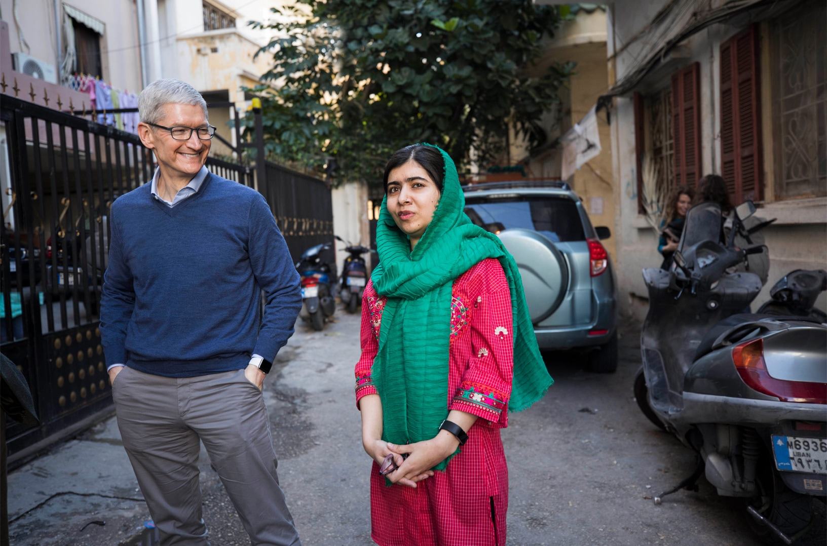 Apple se junta ao Fundo Malala