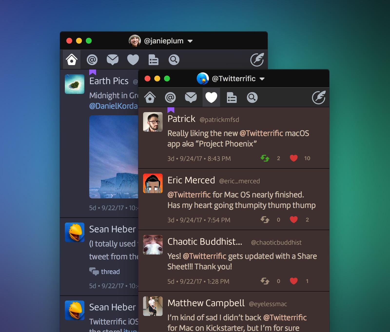 Twitterrific 5 para iOS