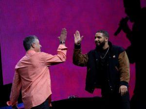 Drake Apple Eddy Cue